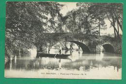 CPA ESSONNE 280/389 – BRUNOY, Pont Sur L'Yerres - Brunoy