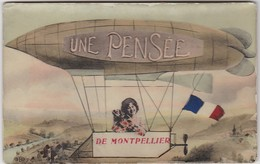 Une Pensée De MONTPELLIER ( Zeppelin Ballon Dirigeable ) - Montpellier
