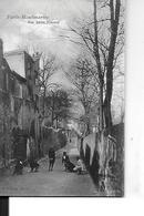 PARIS 75018   MONTMARTRE  RUE SAINT VINCENT  ENFANTS JOUANT - Distrito: 18