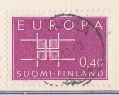 EUROPA CEPT - FINLAND 1963 Emblems - Finlandia