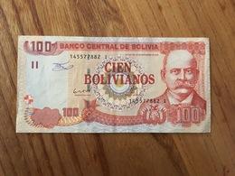 BOLIVIE 100 Bolivianos - P 241 - Ley 901 Del 28 De Noviembre 1986 - Serie I - AU - Bolivia