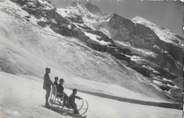 EIGERGLETSCHER → Schlittelplausch Auf Dem Gletscher Anno 1923 - BE Bern