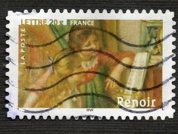 France ADHESIF N° 77 RENOIR Oblitéré - Adhésifs (autocollants)