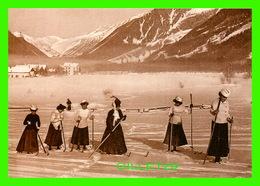 SPORTS D'HIVER, LE SKI - PARTIE DE SKIS EN 1905 - LES PIONNIERS DE L'ALPINISME - REPROD. - ÉCRITE EN 2004 - - Sports D'hiver