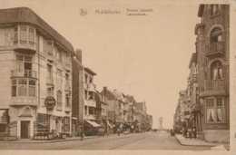 Middelkerke - Leopoldlaan - Avenue Leopold - Hotel Restaurant Melrose - Circulé En 1951 - Animée - TBE - Middelkerke