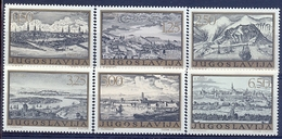 YU 1973-1499-604 LITOGRAF STATES, YUGOSLAVIA. 1 X 6v, MNH - 1945-1992 République Fédérative Populaire De Yougoslavie