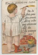 N'as-tu Jamais Vu Aachen. Ne Te Fais Pas De Soucis ... Petit Cheval. - Souvenir De...