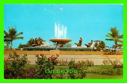 PORT-AU-PRINCE, HAITI - JET D'EAU BI-CENTENAIRE - CIRCULÉE EN 1972 - EDITION PAUL COUBA - - Haïti