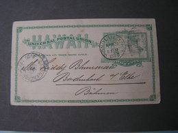 Hawaii Karte 1899 - Hawaii