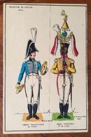 UNIFORMI MILITARI ROYAUME DE NAPLES 1812  MUSICIENS LEGION PROV, DE CHIETI  REAL AFRICANO 7 Di R.FORTHOFFER 1975 (15X20) - Uniforms