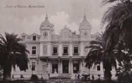 AQ22 Front Of Casino De Monte Carlo - RPPC - Casino