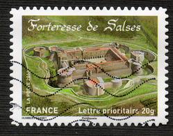 France ADHESIF N° 721 FORTERESSE DE SALSES   Oblitéré - Adhésifs (autocollants)