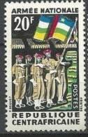 "Centrafrique YT 26 "" Armée Nationale "" 1963 Neuf** - República Centroafricana"