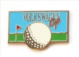 Pin's VOLKSWAGEN CUP - Balle De Golf - I172 - Golf