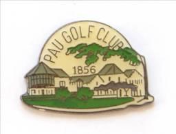 Pin's PAU (64) - GOLF CLUB DE PAU Crée En 1856 - Vue Des Bâtiments - P S G - I175 - Golf