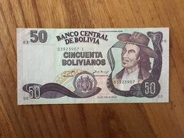 BOLIVIE 50 Bolivianos - Ley 901 Del 28 De Noviembre 1986 - Serie C - UNC - Bolivia