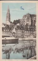 CPA 89  AUXERRE L.YONNE ET LE QUATIER DE LA MARINE ECRITE EN 1947 - Auxerre