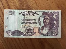 BOLIVIE 50 Bolivianos - Ley 901 Del 28 De Noviembre 1986 - Serie I - VF - Bolivia