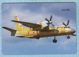 UKRAINE / Flexible Magnet / Aviation. Modernized Transport Aircraft AN-32B. Antonov. - Transport