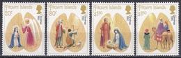 Pitcairn 1991 Religion Christentum Weihnachten Christmas Noel Navidad Natale Kunst Arts Kultur Culture, Mi. 387-0 ** - Briefmarken