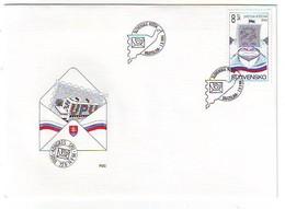 SLOVAKIA FDC 199 - FDC