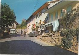 CPSM Mornex Rue Des Commerces - Autres Communes