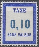 FRANCE  TIMBRES FICTIFS TAXE__  N°  FT18__NEUF** VOIR SCAN - Fictifs