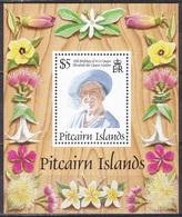 Pitcairn 1995 Geschichte History Persönlichkeiten Königshäuser Royals Herrscher Königinmutter Elisabeth Queen, Bl. 16 ** - Briefmarken