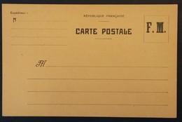Carte De Franchise Militaire Neuve - Marcophilie (Lettres)
