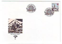 SLOVAKIA FDC 206 - FDC