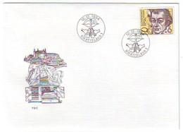 SLOVAKIA FDC 209 - FDC