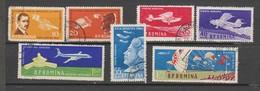 ROUMANIE  1960  Aérien   N° 111 /117  Oblitéré  ( 7 Valeurs) Série Compléte - Oblitérés