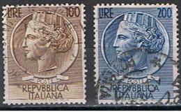 (I 99) ITALIA // YVERT 684 & 685 SÉRIE COMPLÈTE // 1954 - 1946-.. République
