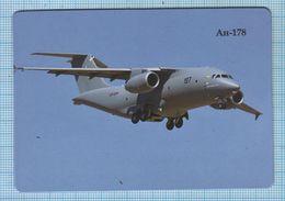 UKRAINE / Flexible Magnet / Aviation. Transport Turbojet Aircraft AN-178. Antonov . - Transportmiddelen