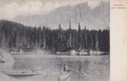 AQ23 Karersee Mit Latemar - Rowing Boats - Italy