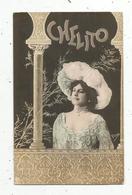 Cp , Spectacle , Artiste , CHELTO , Signée R. Lopez , Dos Simple, Union Postale Universelle, Vierge - Künstler