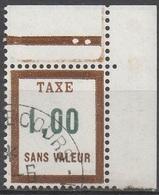 FRANCE  TIMBRES FICTIFS TAXE__  N°  FT28__OBL VOIR SCAN - Fictifs