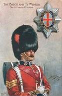 "COLDSTREAM GUARDS - ARTIST HARRY PAYNE ~ TUCK'S ""OILETTE"" POSTCARD #90421 - Regiments"