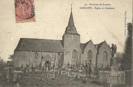 Guégon--Eglise Et Cimetiere (environ De Josselin - Josselin