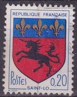 France, Variétés - Yvert N° 1510 Oblitéré Cheval Noir - Variétés Et Curiosités