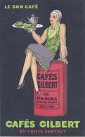 CPA Poitiers Publicité Cafés Gilbert - Poitiers