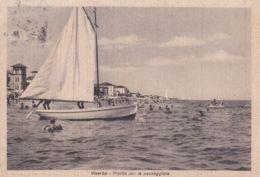 1930circa-Forli' Viserba Pronto Per La Passeggiata, Cartolina Viaggiata - Forlì