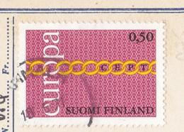 EUROPA CEPT - FINLAND 1971 Emblems - Finlandia