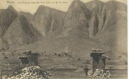 CHINE - CHINA -  HONAN - Les Piliers Du Shao She Et Le Yu Tai Shan- Cachet De La Poste 1922 - Chine
