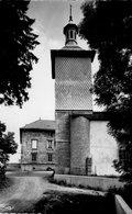 (Jura)  CPSM Censeau  Ecole Et Eglise D' Esserval Tartre  (Bon Etat) - France