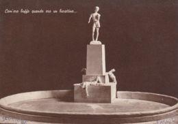 1955-Pinocchio Com'ero Buffo Quando Ero Un Bambino, Scultore Fagioli, Edizione Speciale Per L'erigendo Monumento - Belle-Arti