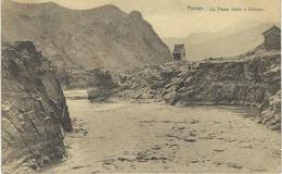CHINE - CHINA -  HONAN - Le Fleuve Jaune à Sanmen- Cachet De La Poste 1922 - Chine