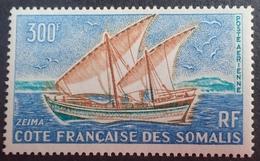 "DF50500/604 - 1964 - COTE FR. DES SOMALIS - POSTE AERIENNE - "" ZEÏMA "" - N°40 NEUF** - Nuovi"