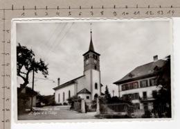 Combremont-le-Petit - L'Eglise Et Le Collège (1940) - VD Vaud