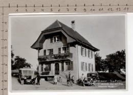 Combremont-le-Petit - La Poste, Arrivée Des Autobus - Bus PTT / Postauto - VD Vaud